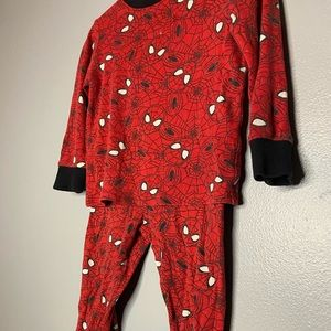 Spider man pajamas set